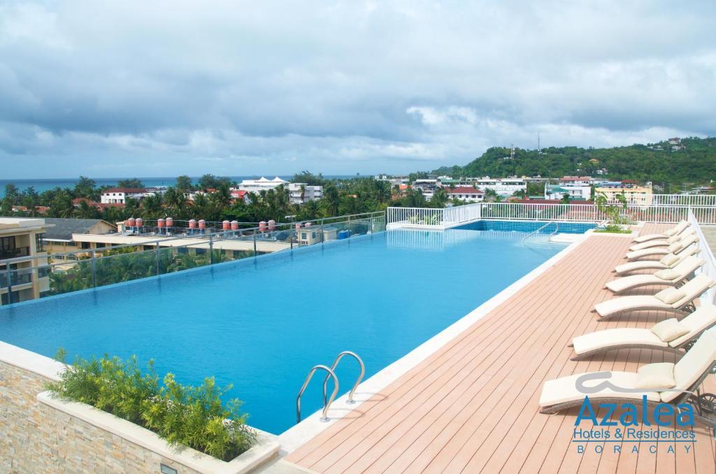 The swimming pool at or near Azalea Hotels & Residences Boracay