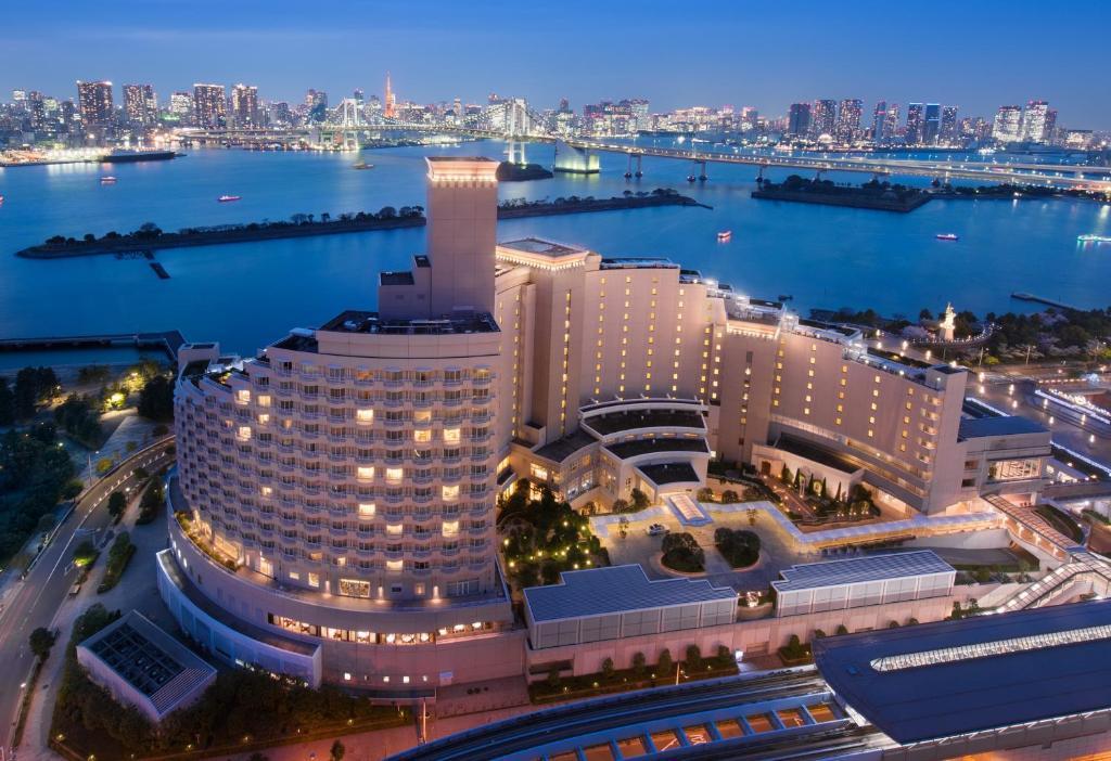 A bird's-eye view of Hilton Tokyo Odaiba