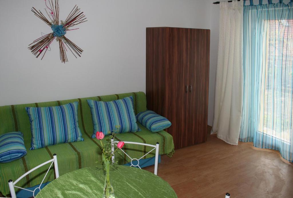 Posezení v ubytování Apartmán Ema