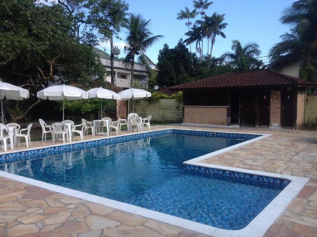 A piscina localizada em Pousada Mariuá ou nos arredores