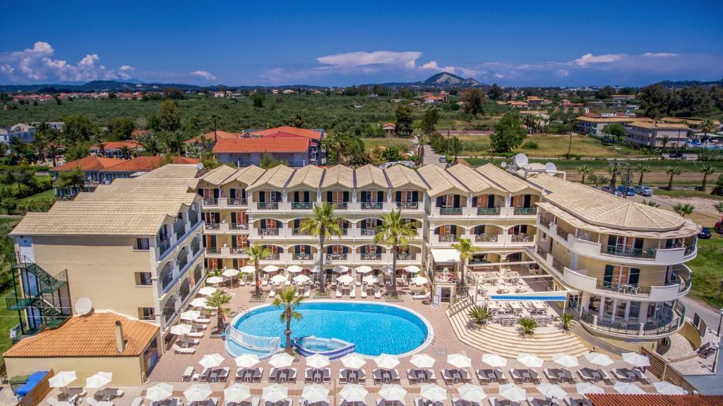 Blick auf Zante Atlantis Hotel aus der Vogelperspektive