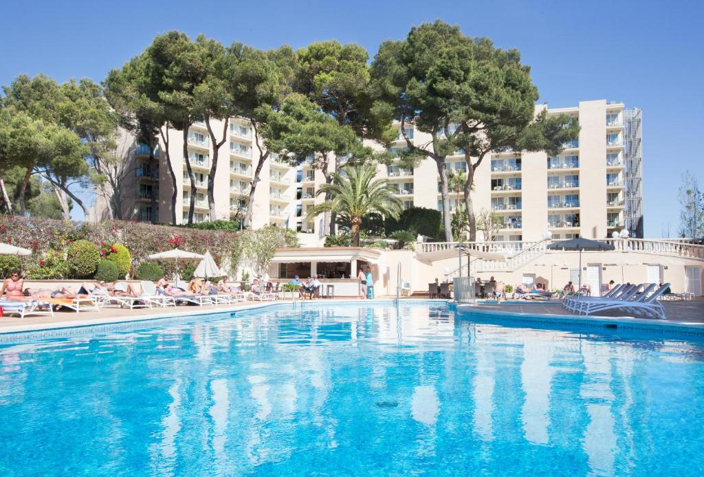 The swimming pool at or near Grupotel Orient