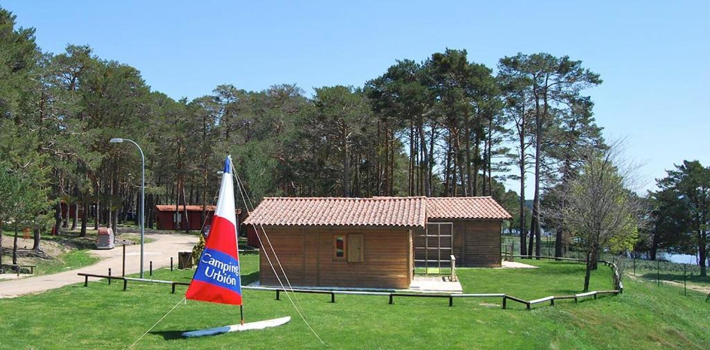 Leiksvæði fyrir börn á Camping Urbion