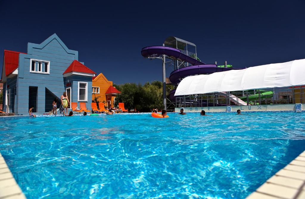 Πισίνα στο ή κοντά στο Ober-Lux Hotel & Resort
