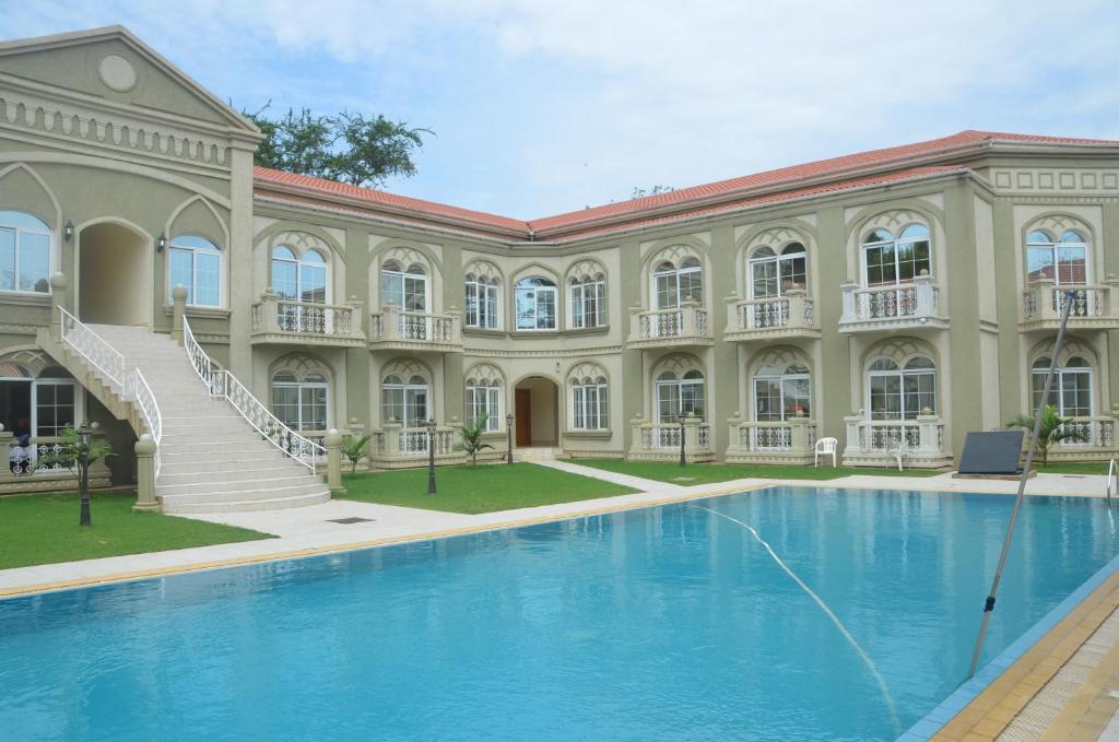 The swimming pool at or near La Corte Toscana Hotel & Resort Juba