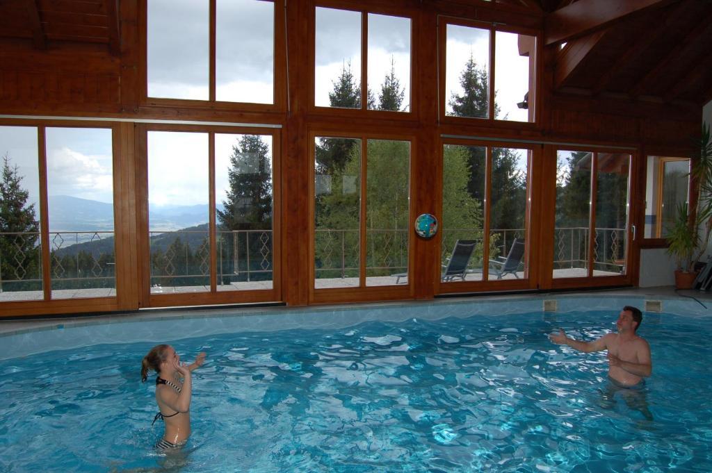 בריכת השחייה שנמצאת ב-Wohlfühl-Alm או באזור