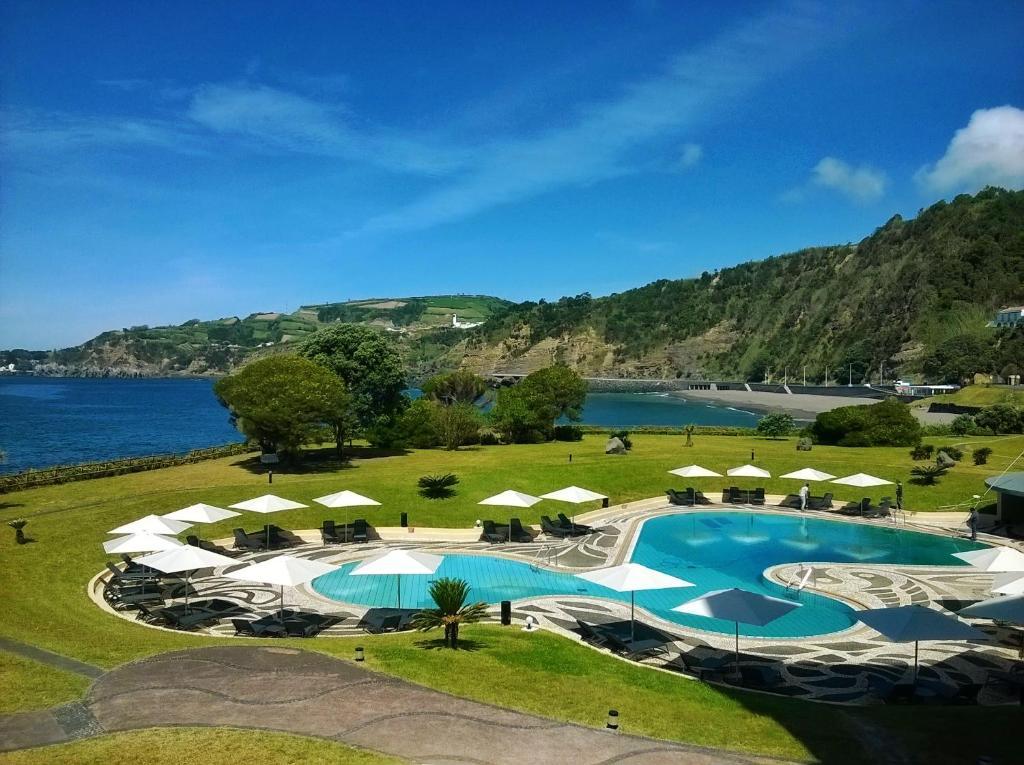 A view of the pool at Pestana Bahia Praia Nature & Beach Resort or nearby