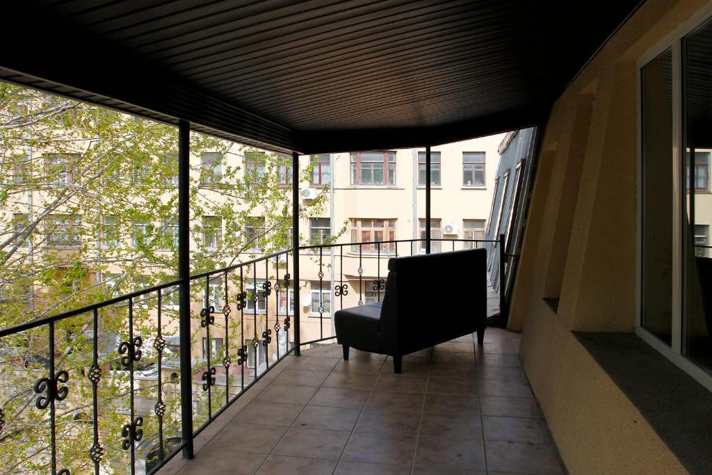 A balcony or terrace at LeonArt