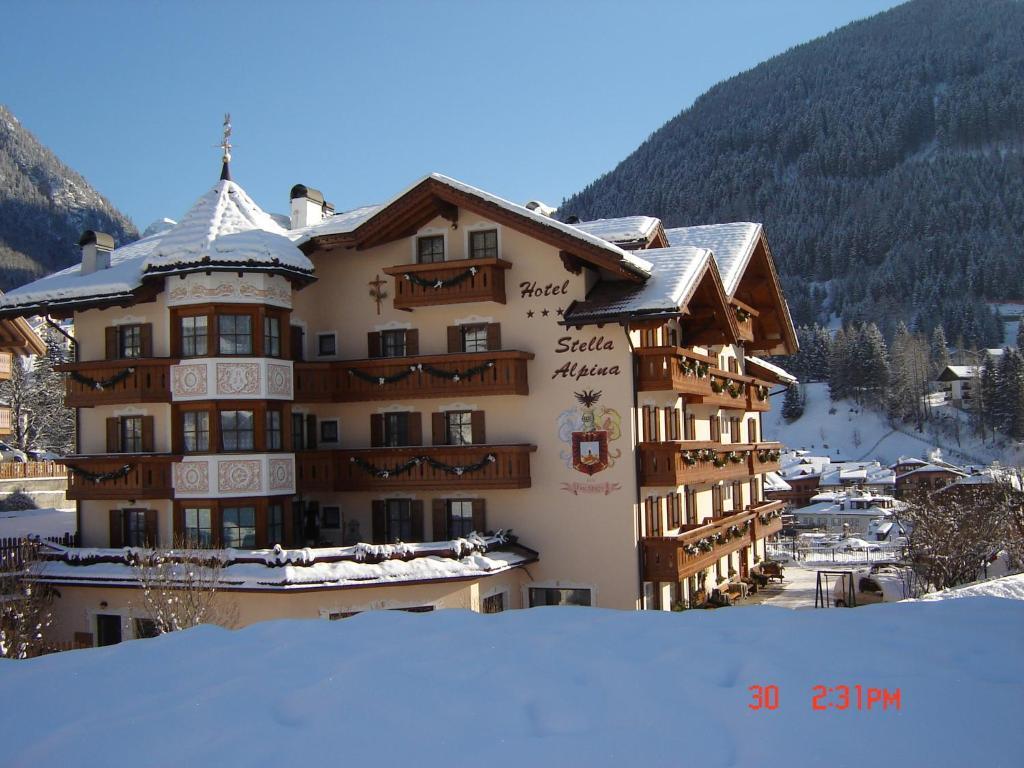 Hotel Stella Alpina durante l'inverno