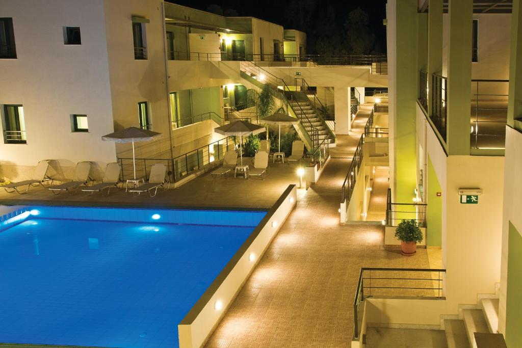 The swimming pool at or near Athina Beach Hotel