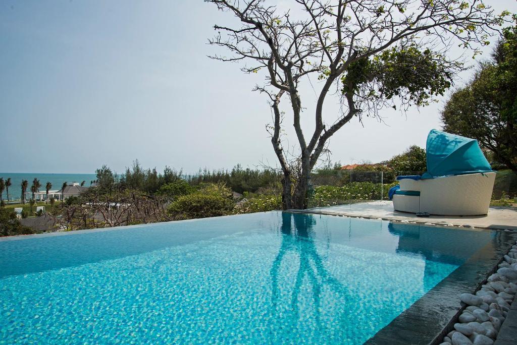 Biệt Thự 2 Phòng Ngủ Nhìn Ra Biển Và Có Hồ Bơi Riêng