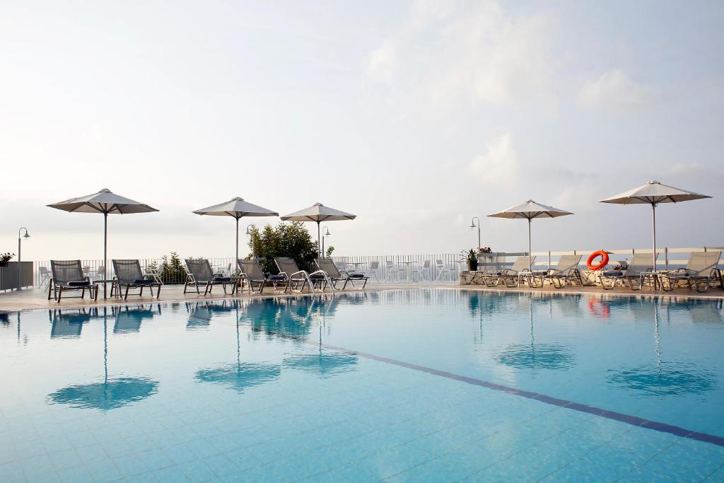 The swimming pool at or near Asteris Hotel