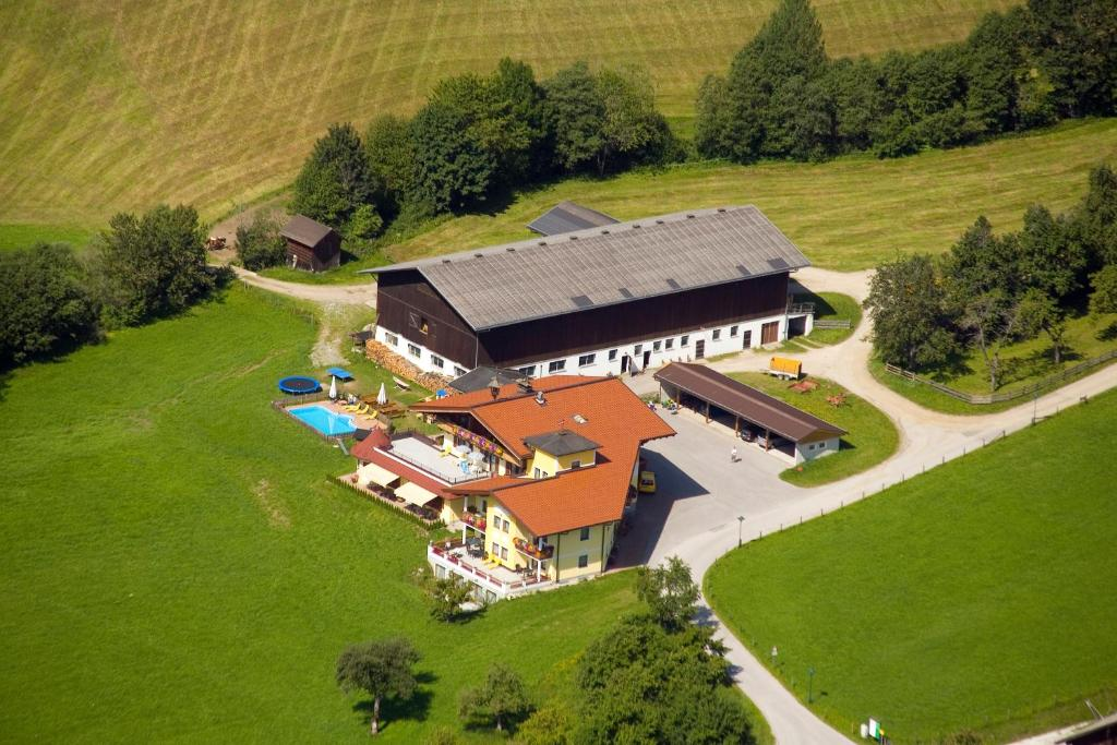 A bird's-eye view of Landhotel Hinteraigengut