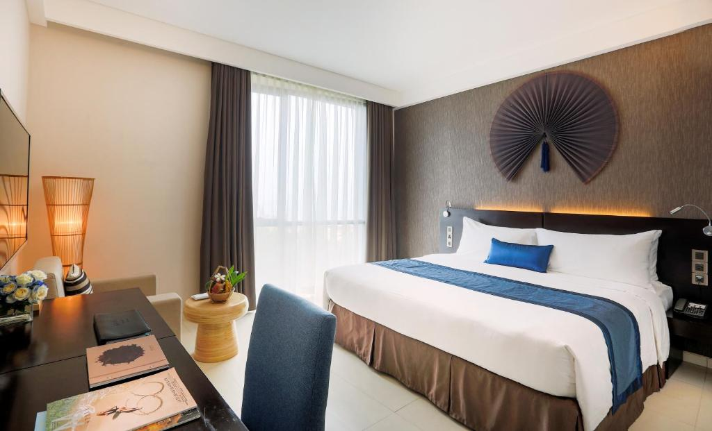 Phòng Meliá - Phòng Giường Đôi (Giảm Giá 40% Cho Spa & 15% Cho Đồ Ăn & Thức Uống)