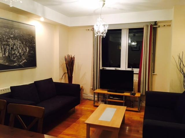 Ein Sitzbereich in der Unterkunft Hestia Travel London