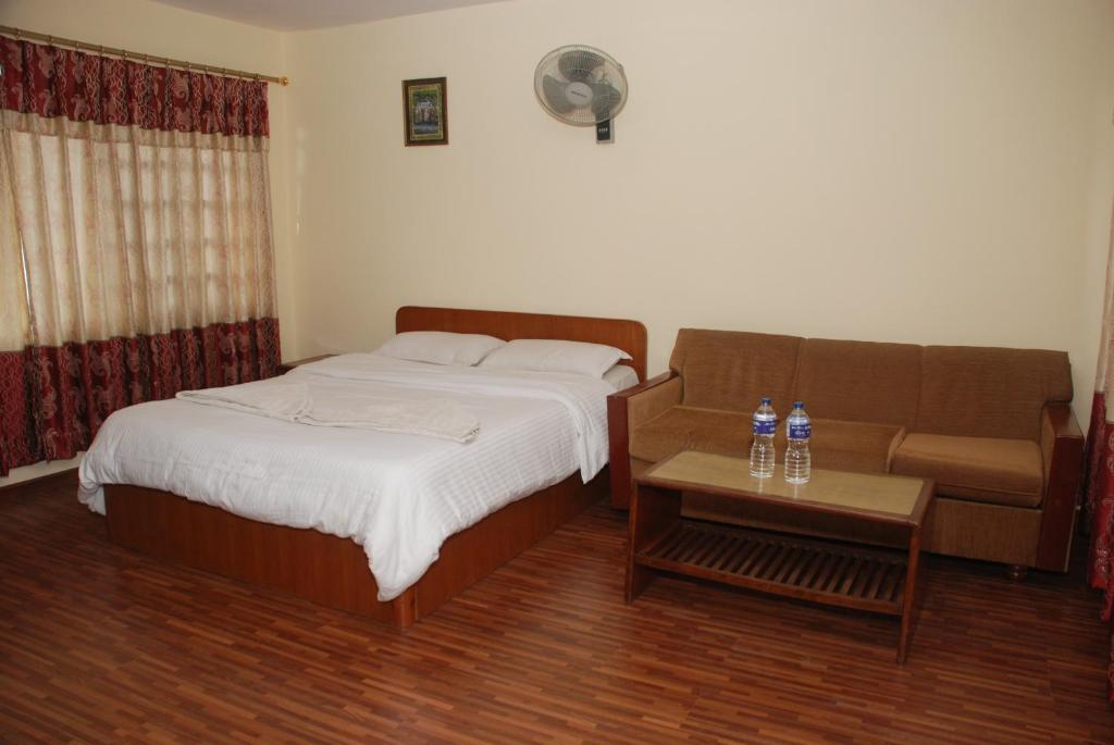 A room at Kathmandu Madhuban Guest House