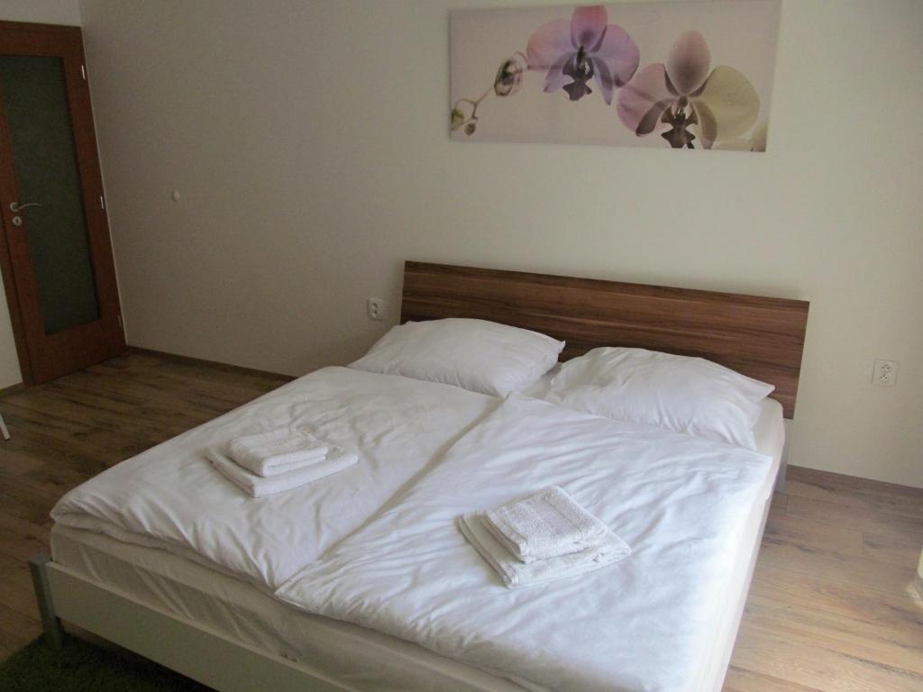 Ένα δωμάτιο στο Dlouha Apartments City Center