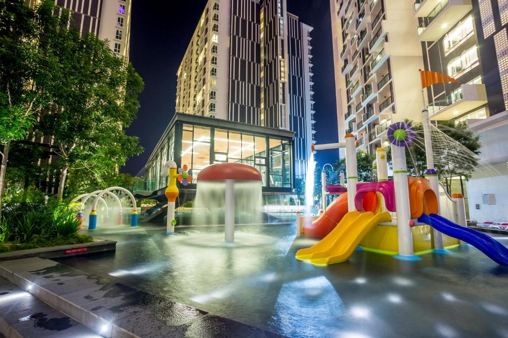 Children's play area at The Shore Hotel & Residences