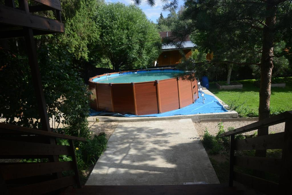 The swimming pool at or near Guest house Aviator