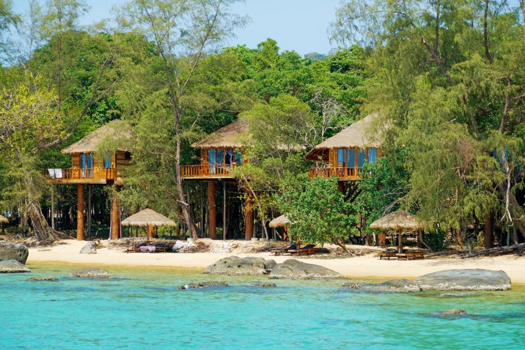 Tree House Bungalow Koh Rong Island Cambodia Booking Com