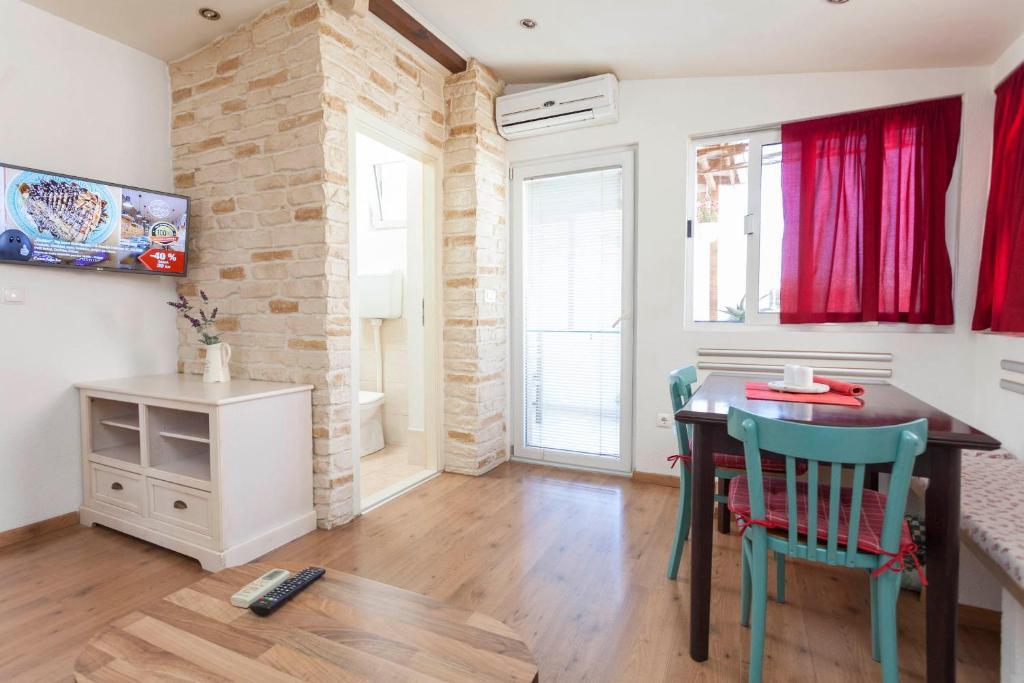 Posezení v ubytování Apartments Sanja