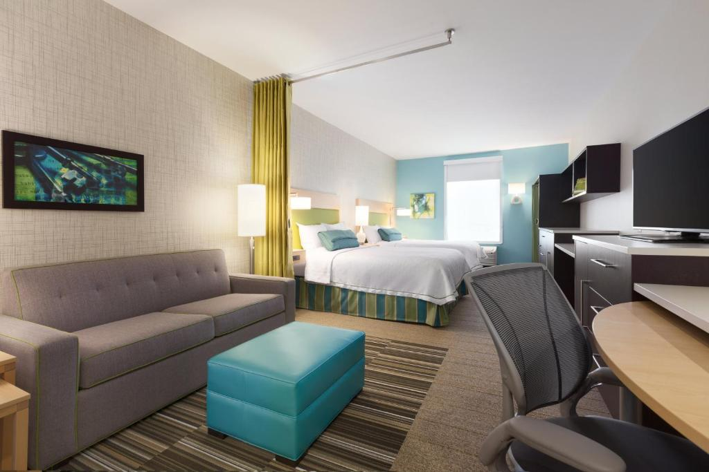 A room at Home2 Suites by Hilton Amarillo