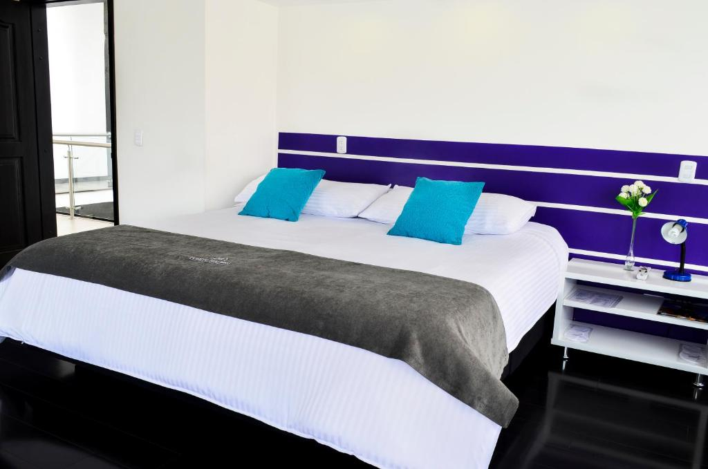 Una habitación en Hotel Puerto Madero Boutique Chia