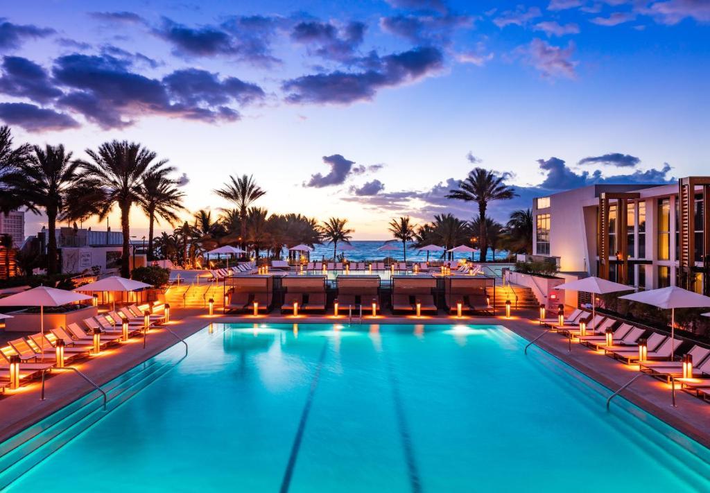 The swimming pool at or near Eden Roc Miami Beach