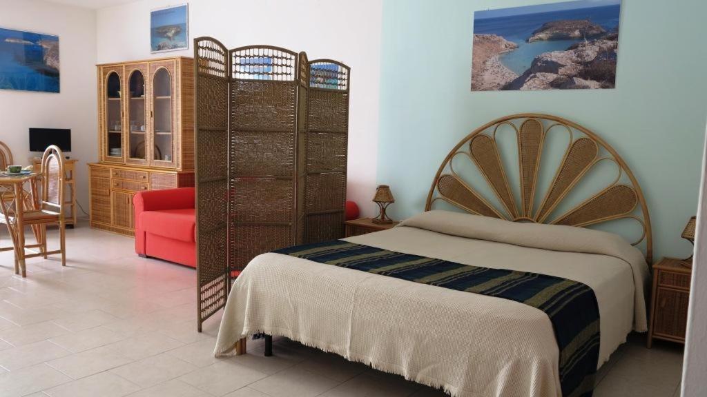 A room at La Mia Isola