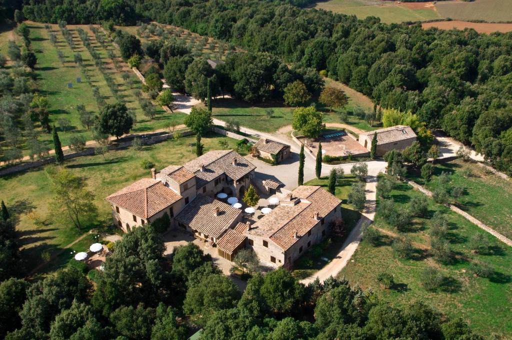 A bird's-eye view of Borgo Gallinaio