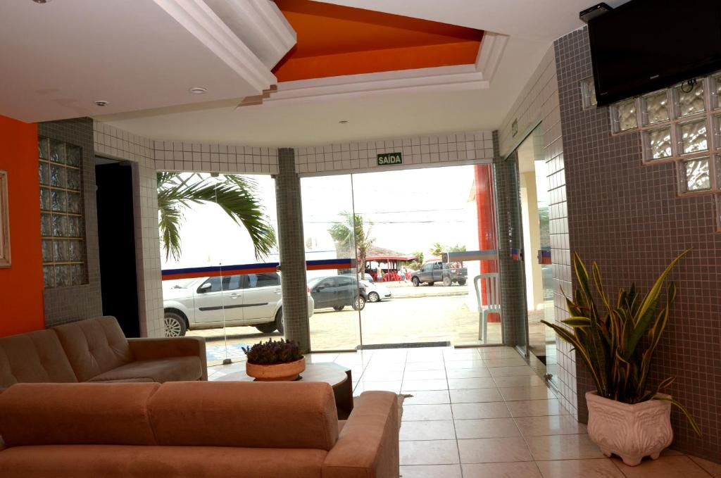 The lounge or bar area at San Fernando Hotel