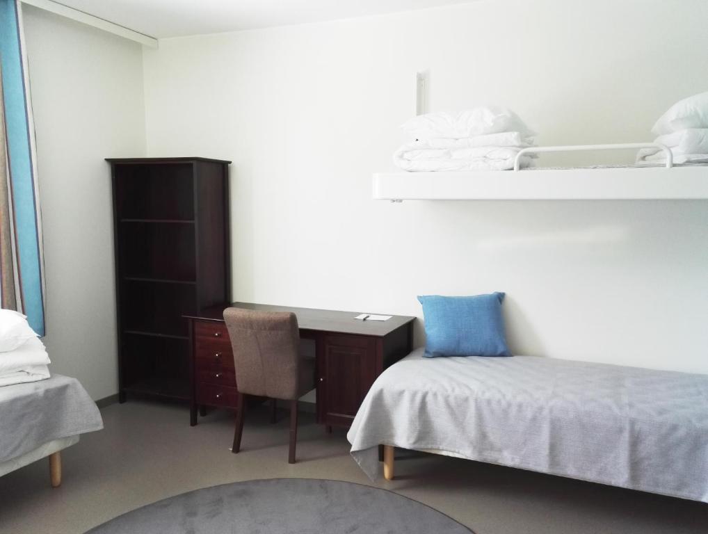 A room at Summer Hostel Joutsen Tampere