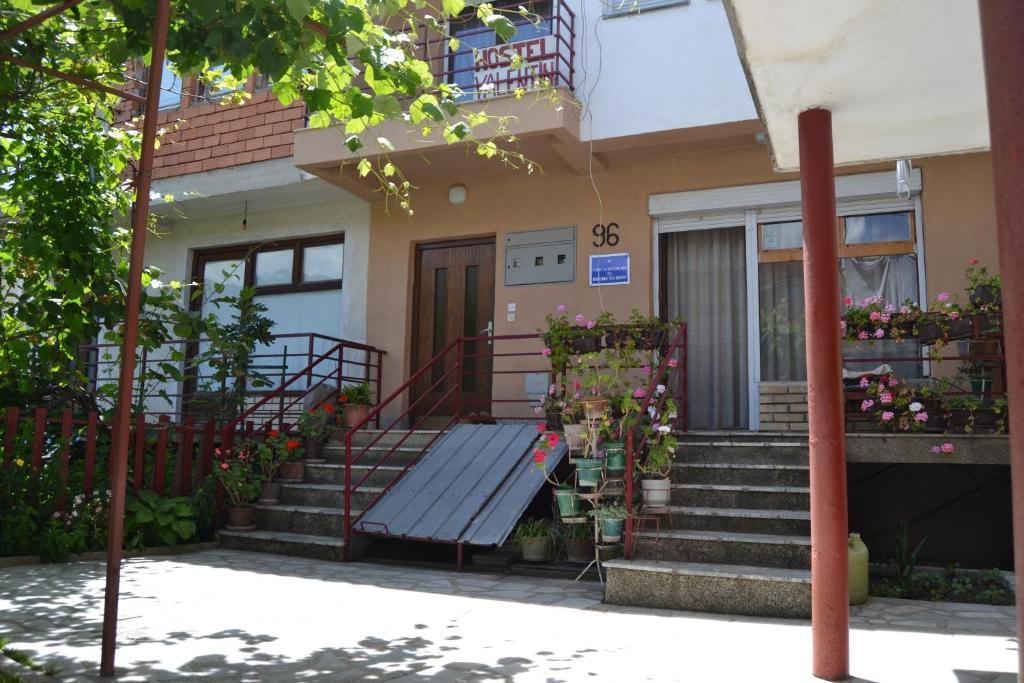 Uma varanda ou outra área externa em Hostel Valentin