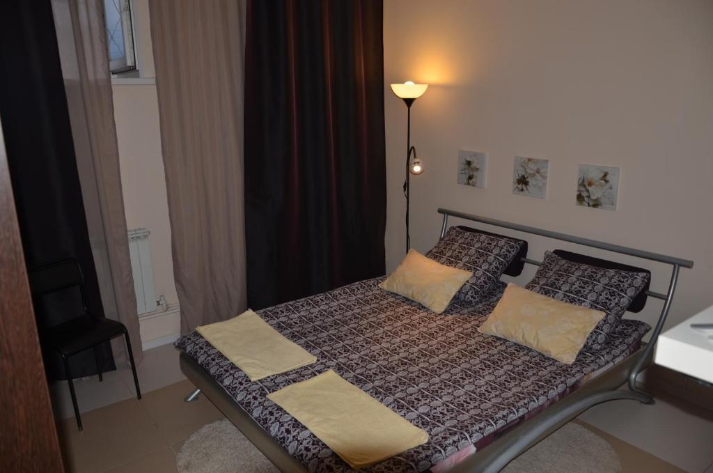 Кровать или кровати в номере Piezo Hostel