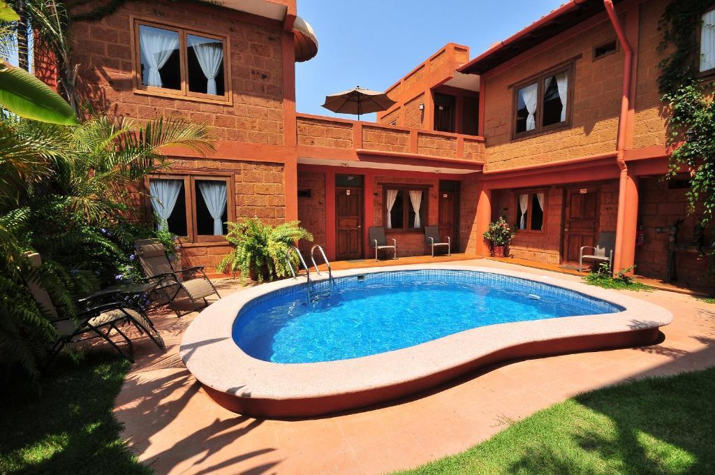 The swimming pool at or near Hotel Casa San Pancho