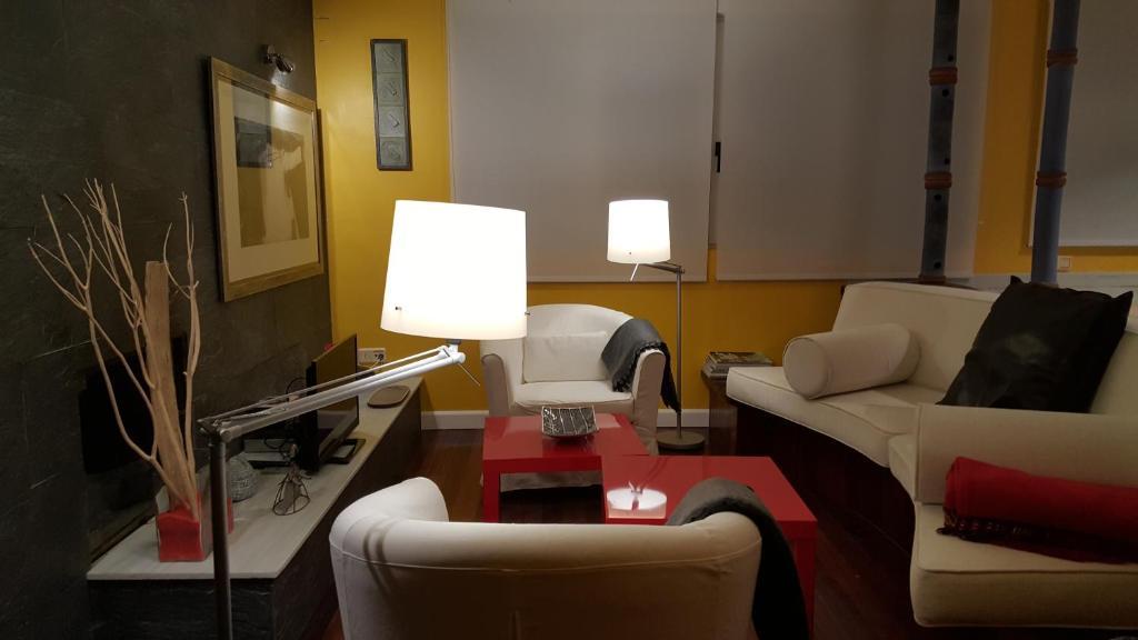 The lounge or bar area at La Turrumbera de Atapuerca