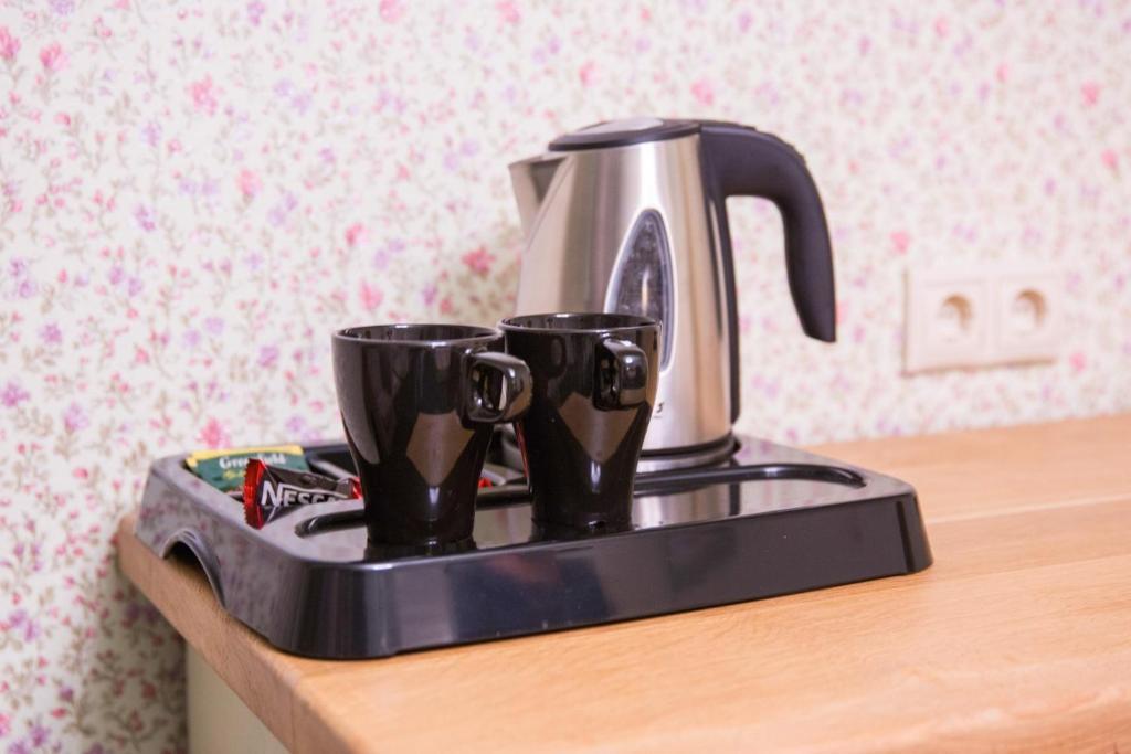 Coffee and tea-making facilities at Lesnaya Polyana