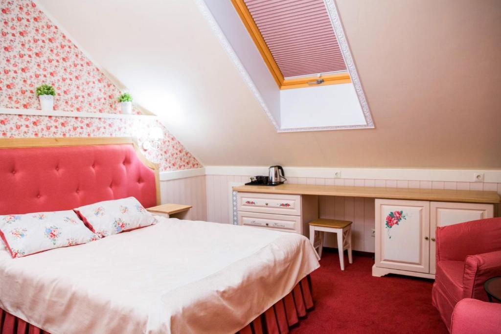 A room at Lesnaya Polyana