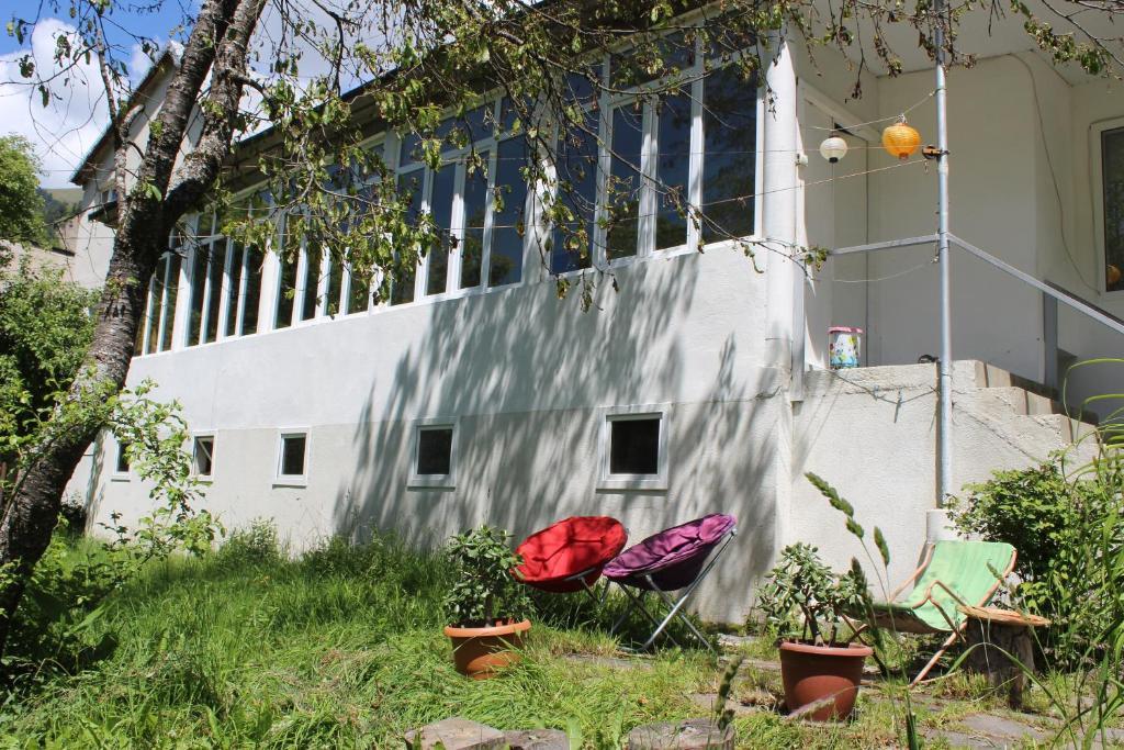 A porch or other outdoor area at Villa Gabliani