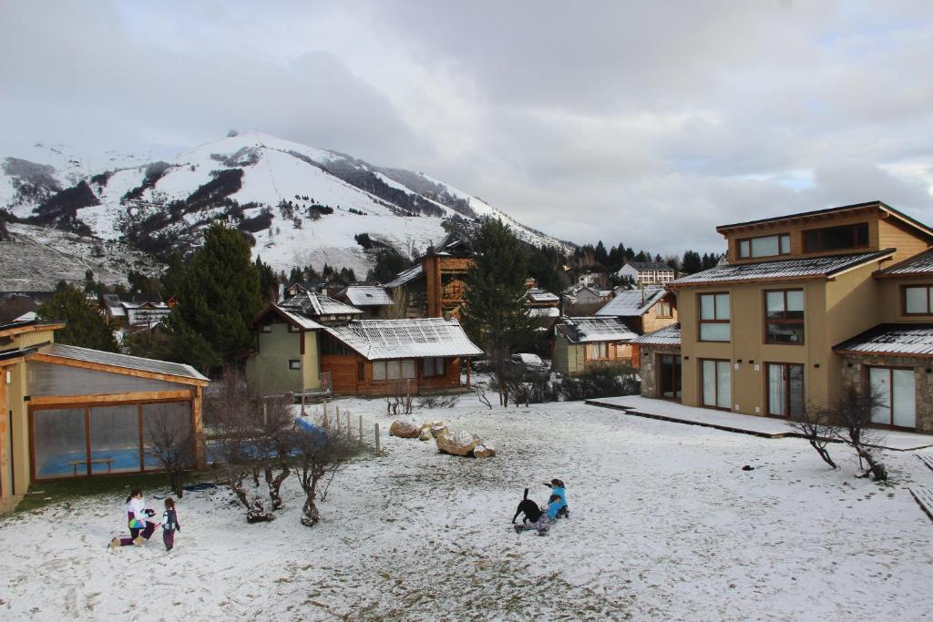 Departamento Cerro Catedral durante el invierno