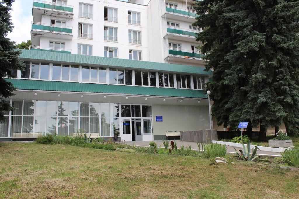 A garden outside Lermontov Health Resort