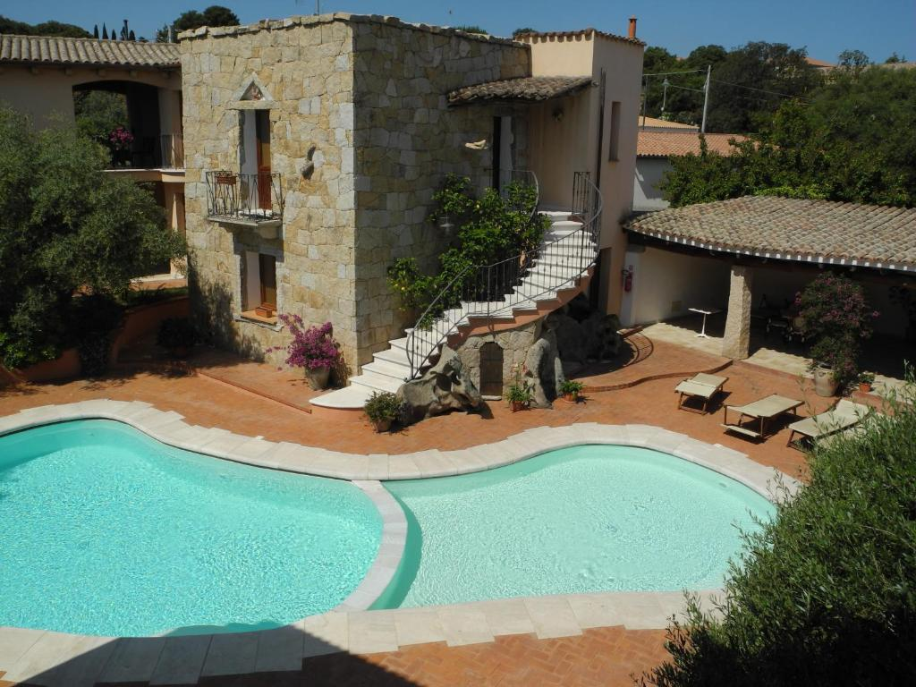 A piscina em ou perto de Hotel San Pantaleo