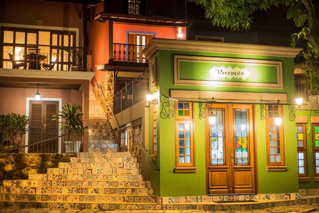 Exteriér alebo vchod do ubytovania Pousada Perequê