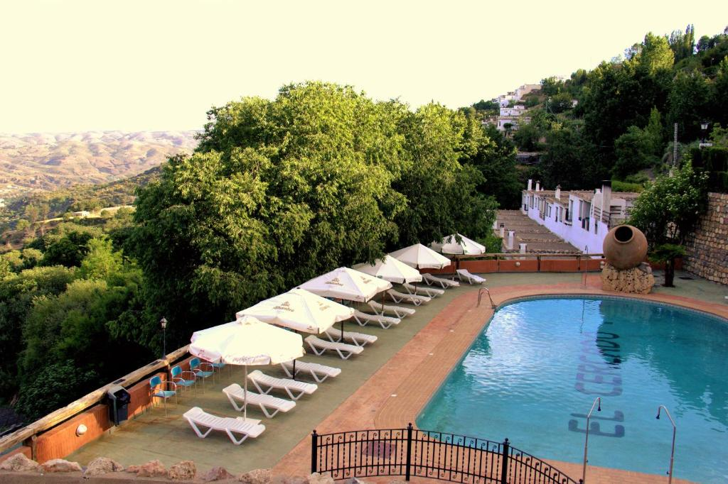 A view of the pool at Turismo Rural & SPA El Cercado or nearby
