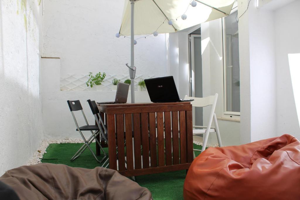 Zona de estar de Holla Hostel