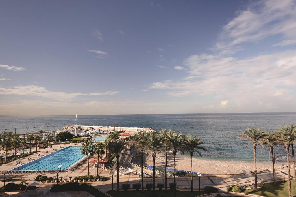 A view of the pool at Mövenpick Hotel Beirut or nearby