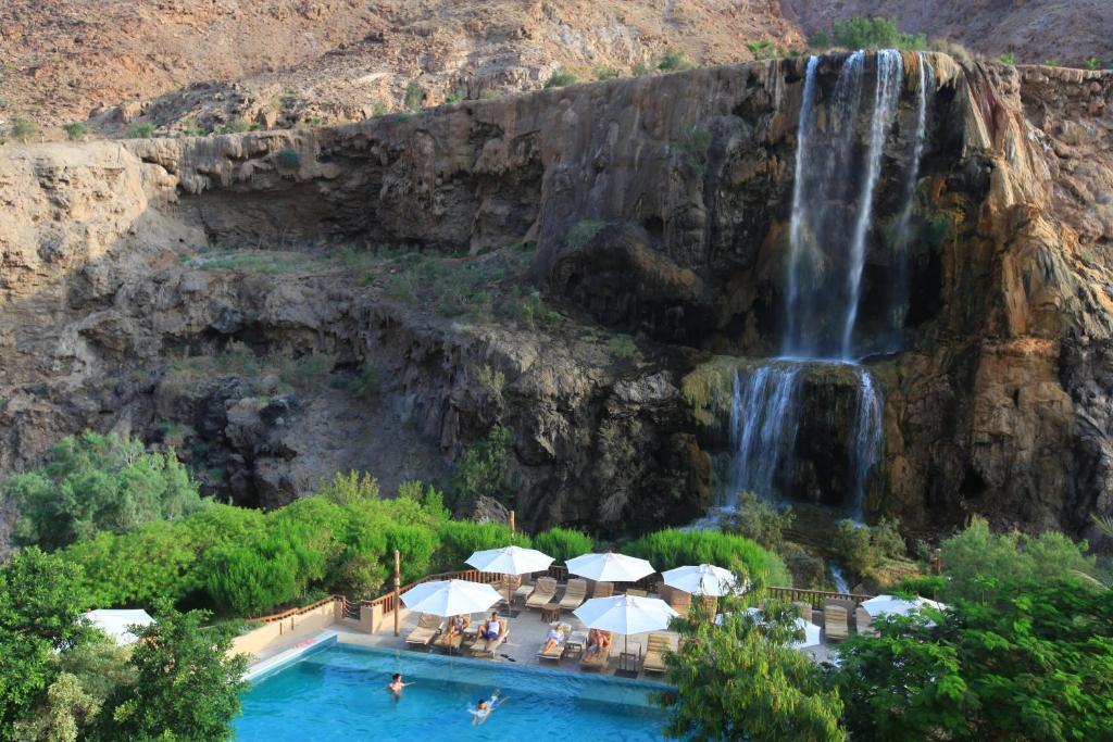 ruta de viaje por jordania - hoteles Wadi AlMujib