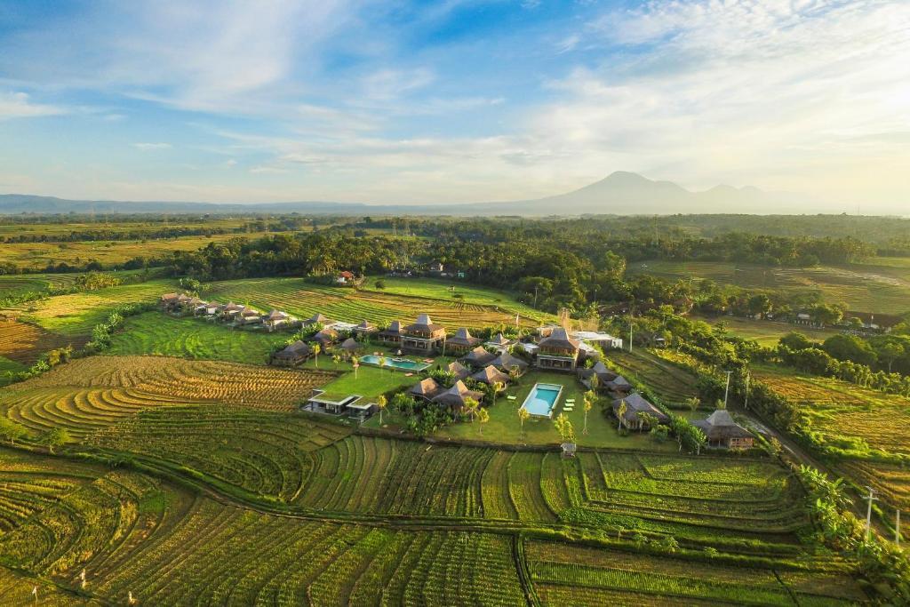 A bird's-eye view of Alami Boutique Villas & Resort