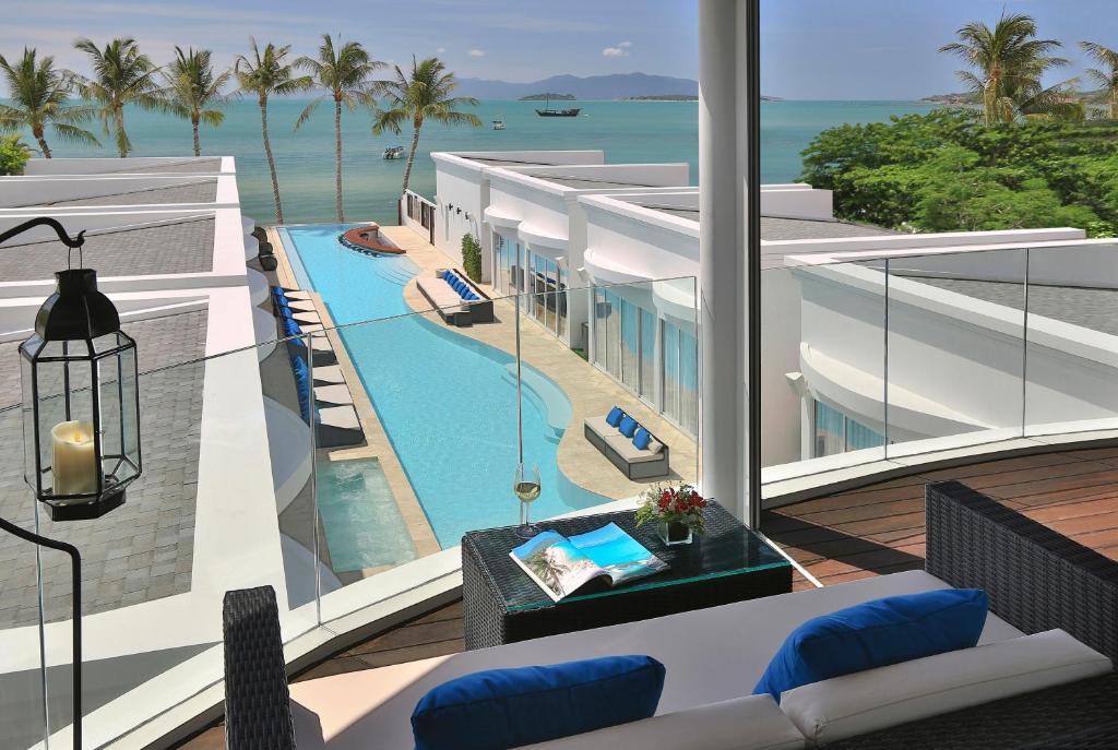 Балкон или терраса в The Privilege Hotel Ezra Beach Club