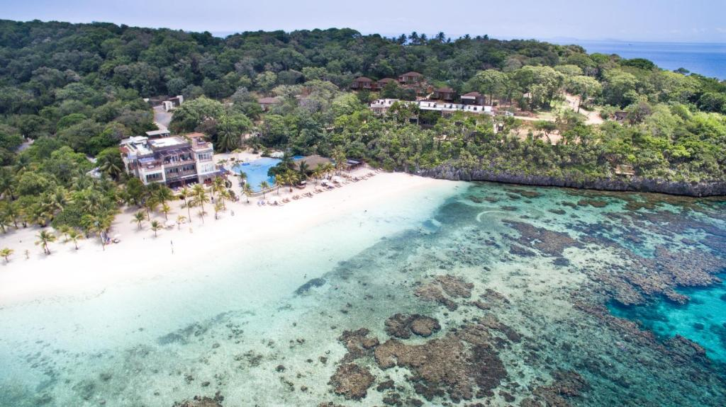 A bird's-eye view of Grand Roatán Caribbean Resort